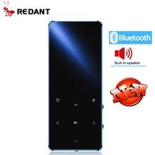 REDANT MP4 плеер bluetooth mp3 mp4 музыкальный плеер портативный MP4 медиа тонкий с 1,8 дюймовыми сенсорными клавишами fm-радио видео Hifi MP 4 16GB