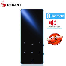 REDANT MP4 lettore bluetooth mp3 mp4 del giocatore di musica portatile MP4 media sottile con tasti a sfioramento da 1.8 pollici radio fm video hifi MP 4 16GB(China)