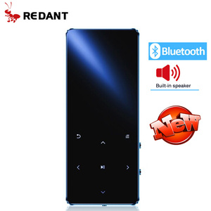 REDANT MP4 player bluetooth mp3 mp4 music player portable MP4 media slim with 1.8 inch touch keys fm radio video Hifi MP 4 16GB