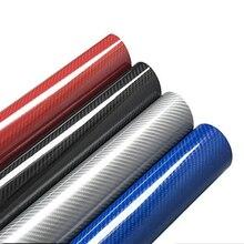 5D Carbon Fiber Vinyl Wrap Film Car Stickers for Audi A4 B8 B6 B5 B7 B9 A3 8P 8V 8L Q5