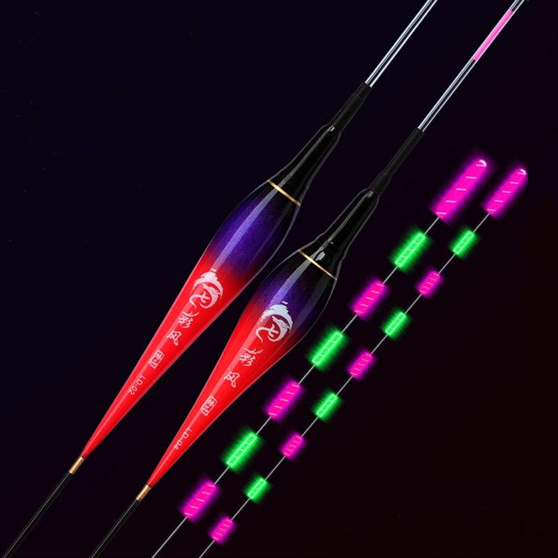 Funhe Fishing Float Excellent Visual LED Luminous Floats High Brightness Bobbers Sensible Electronic