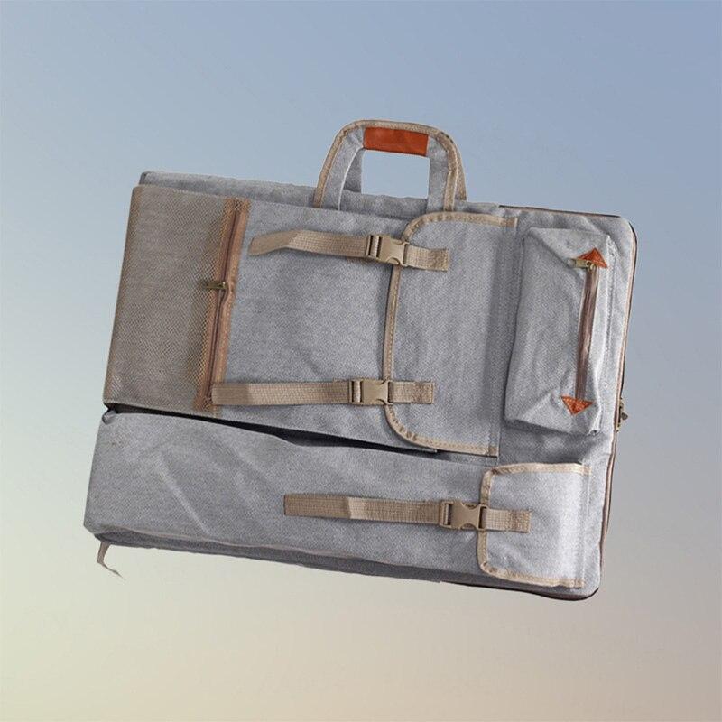 Image 5 - Art Portfolio Bag Case Backpack Drawing Board Shoulder Bag with Zipper Shoulder Straps for Artist Painter Students Artwork-in Art Sets from Office & School Supplies