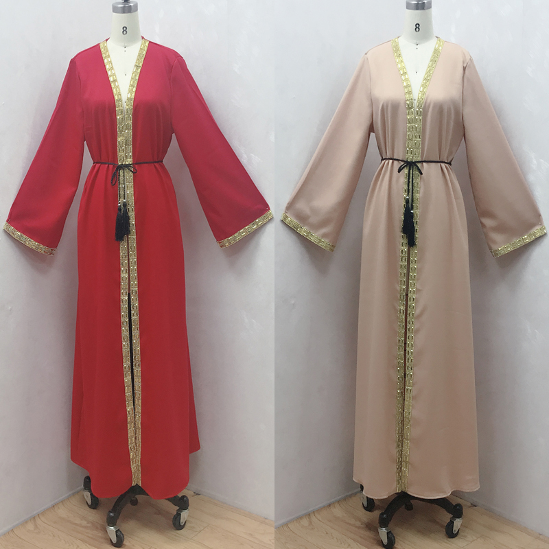 Muslim Clothing Islamic Clothing Abaye Dubai Turkey Kaftan Marocain Malaysia Bangladesh Cardigan robes