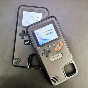 Image 4 - Retro kolorowy pokrowiec na Iphone 12 Pro Max 7 8 plus X XR XS pokrowiec na iphone 12 Pro na iphone 12 Pro Max 12 pokrowiec Gameboy