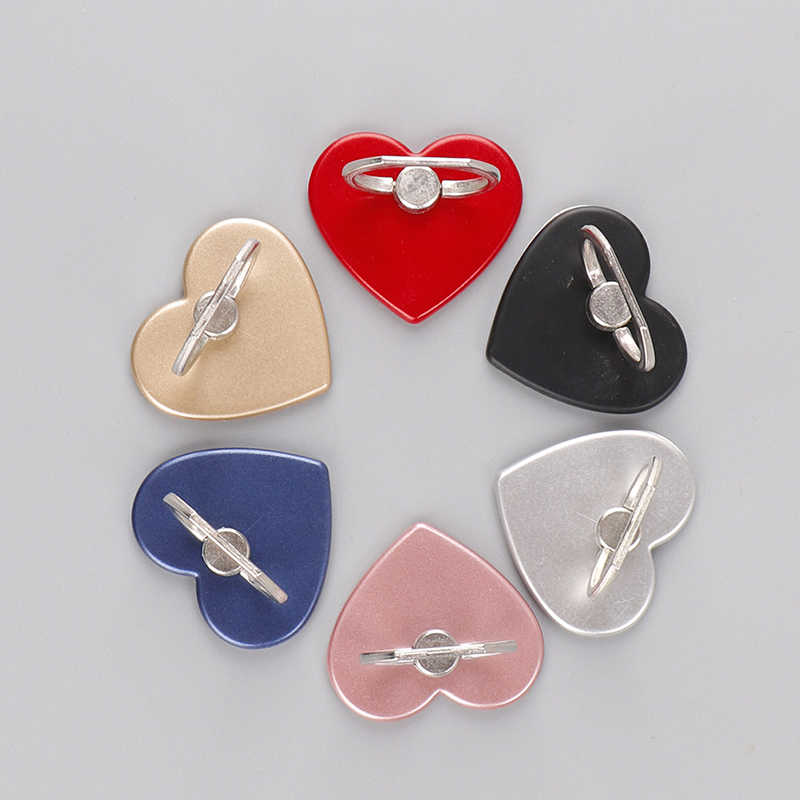360 graus amor coração suporte do telefone titular grau para telefone anel suporte para tablet desktop para samsung huawei xiaomi
