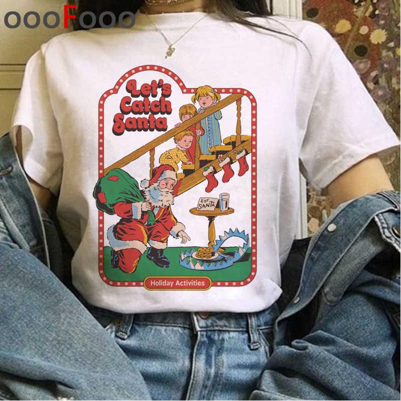 Nuovo Satana Demone Grim Reaper Harajuku T Shirt Donna Satanist Horror Halloween T-Shirt Tshirt Satanismo Inferno Ullzang Top Tee Femminile