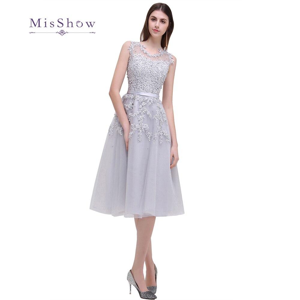 En Stock nouveautés couleurs dentelle courte robes de bal 2019 appliques fleurs perles décolleté robes de soirée vraies Photos CPS298