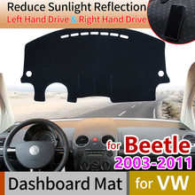 цена на for Volkswagen VW New Beetle 2003~2011 Beetle A5 Anti-Slip Mat Dashboard Cover Pad Sunshade Dashmat Carpet Accessories 2006 2008