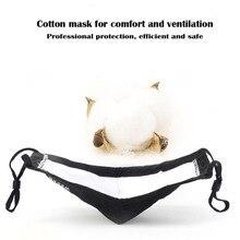 2pcs PINZHI No odor face mask  of advanced sponge PM2.5 masks dustproof and pollution-proof masks filter mouth face mask medical