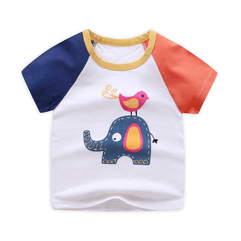 boy's cotton t-shirt elephant