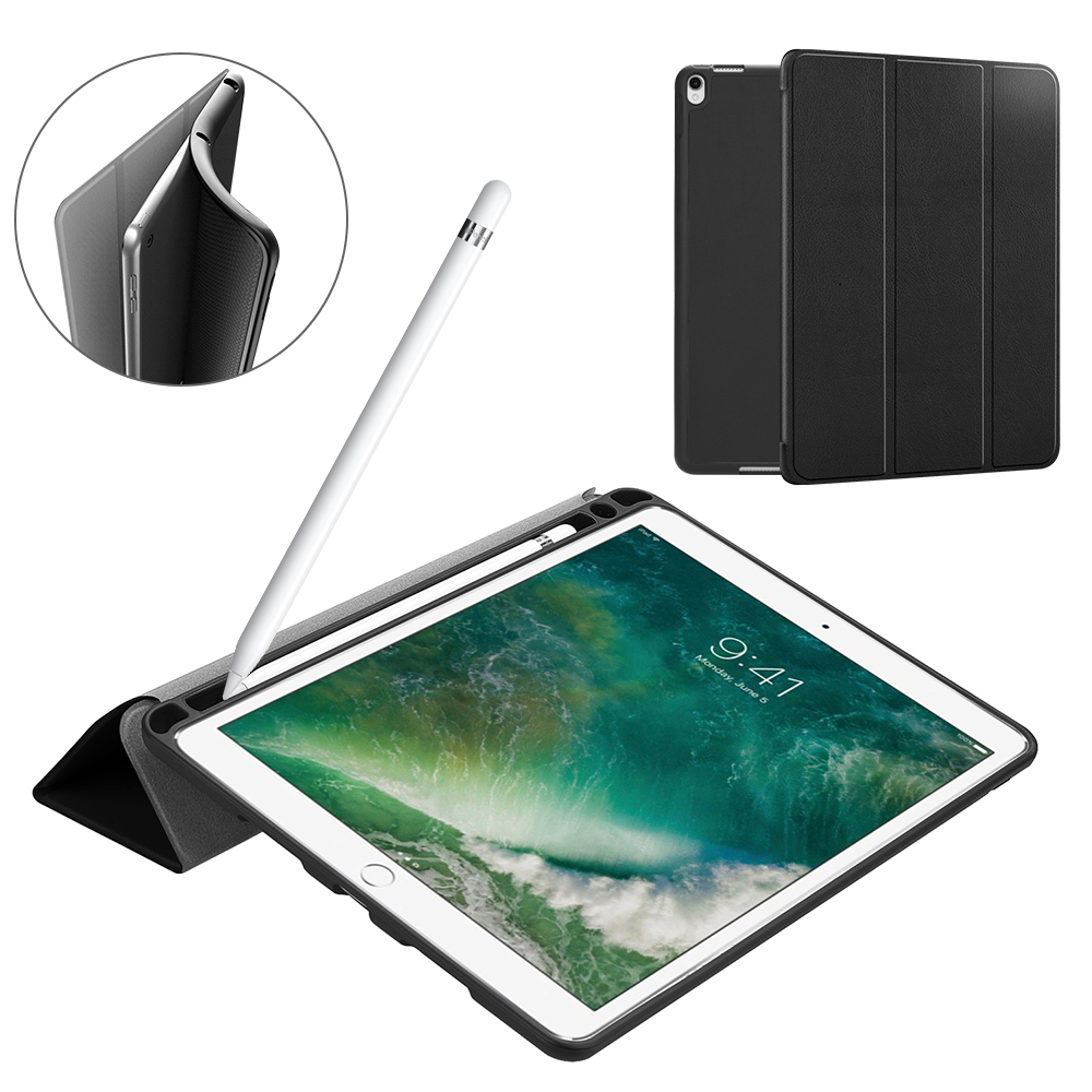 Tablet Case For Ipad Air 3 10.5 2019 Silicone Cover Case For Ipad Pro 10.5 TPU Shell Case For Ipad 10.5 With Pencil Holder