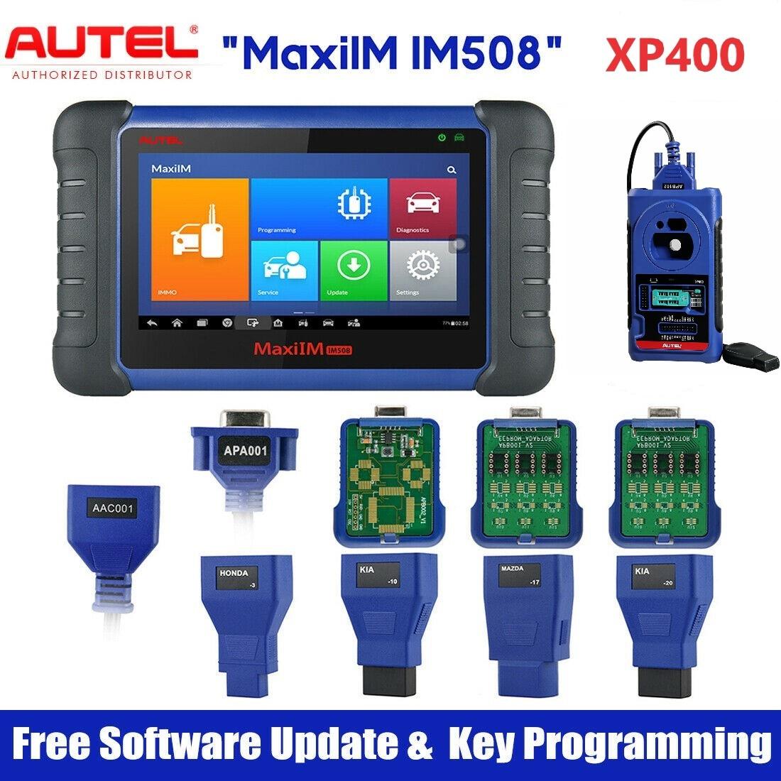 Autel IM508 & XP400 IMMO Key ...