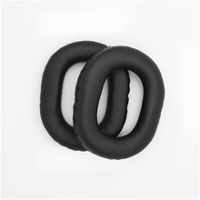 Black Replacement Ear Pads Cushions For Panasonic TECHNICS RP-HTX7 HTX7A HTX9 Earpads Durable And Soft Earmuff Eh# 1pair replacement ear pads earpuds ear cushions cover for panasonic rp htx7 htx7a htx9 headphones