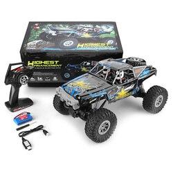 2019 neue WLtoys 104310 RC Auto 2,4G 1/10 4WD Doppel Brücke Crawler RC Auto 40 Minis Mit Mit Sender ladegerät Spielzeug Für Kinder