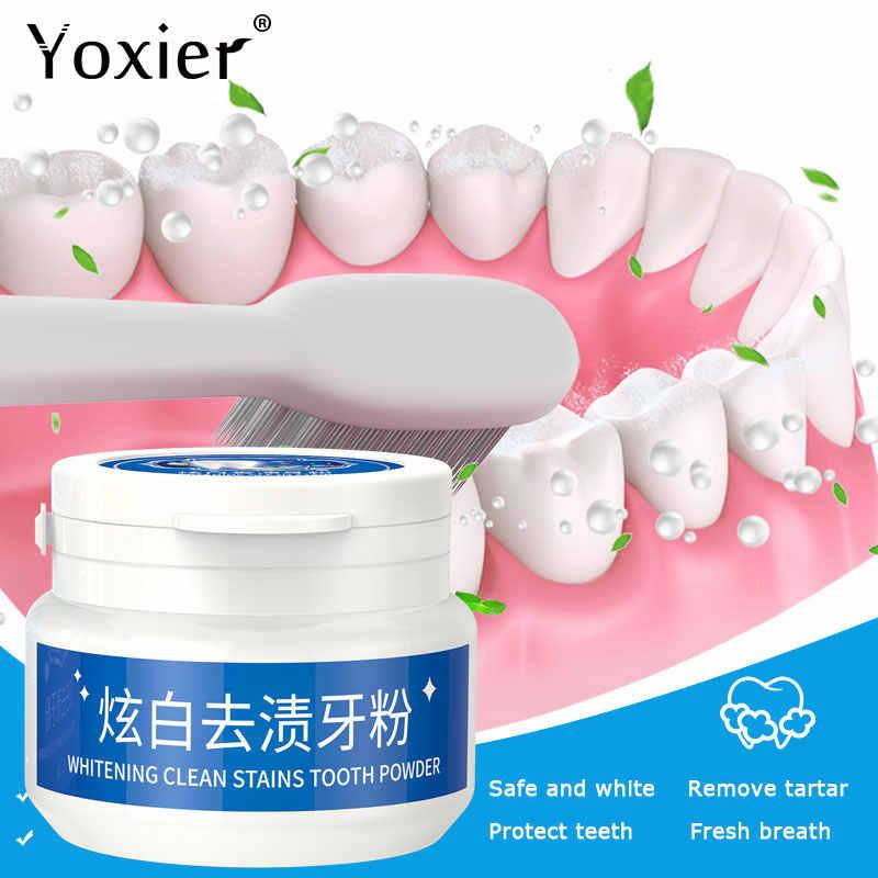 Yoxier Bột Làm Trắng Răng Chăm Sóc Răng Nha Khoa Răng Vệ Sinh Tinh Chất Ngọc Trai Tự Nhiên Vệ Sinh Răng Miệng Dụng Cụ Để Bàn Chải Đánh Răng Kem Đánh Răng