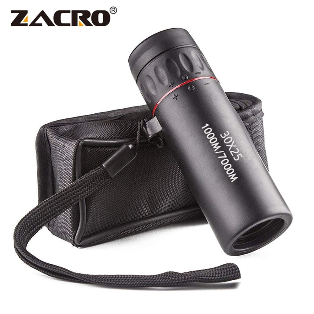 Монокулярный телескоп Zacro высокого разрешения, водонепроницаемый портативный мини-прицел с 10-кратным увеличением, для путешествий и охоты, ...