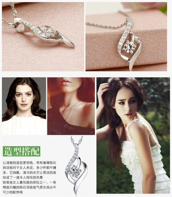 Фото вечерние женские свадебные ожерелья с подвеской элегантные подвески цена