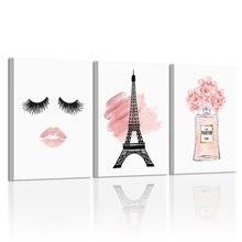 Модное настенное искусство парижский декор настенный плакат
