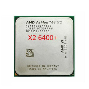 AMD Athlon 64 X2 6400+ CPU Processor (3.2Ghz/ 2M /1000GHz) Socket am2 (working 100% Free Shipping) 940 pin
