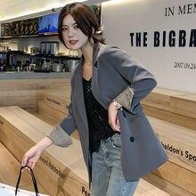 Hodisytian модный блейзер для женщин 2020 яркие цвета приталенный