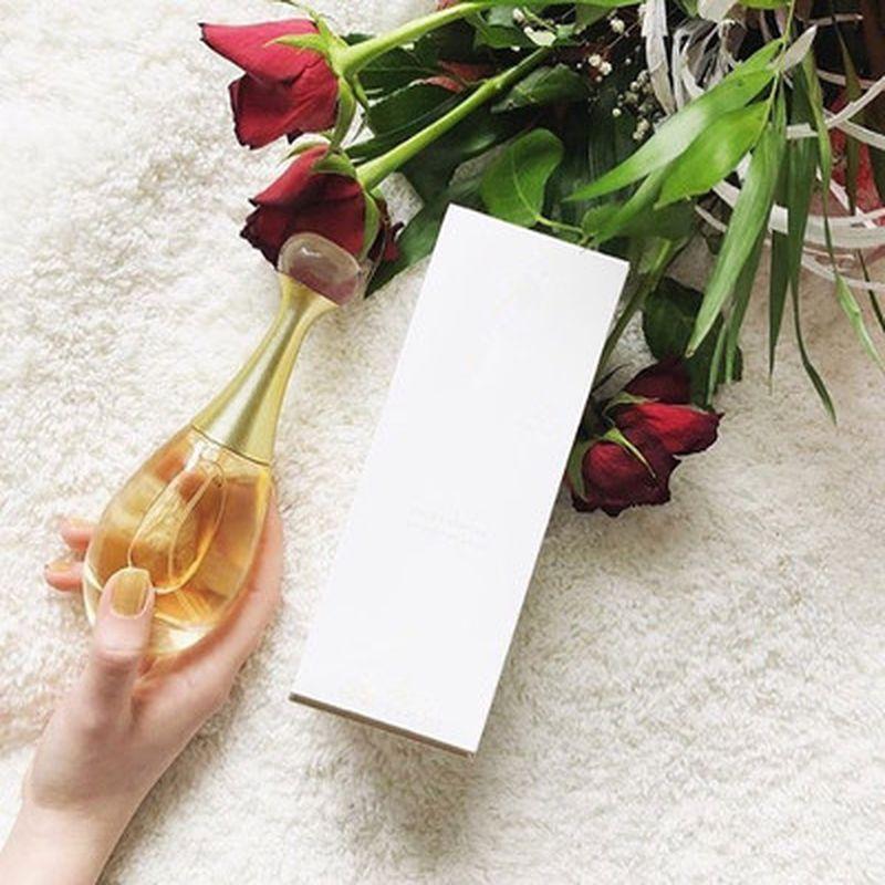 100ml Elegant Perfume Golden Girl Supports Lady Perfume Long Lasting Female Fragrance Women Fresh Perfume Atomizer