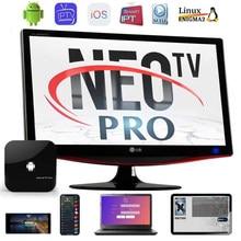 king neo PLUS IP M3U TV EUROPE anroid/pc/ios/ support M3U smart TV