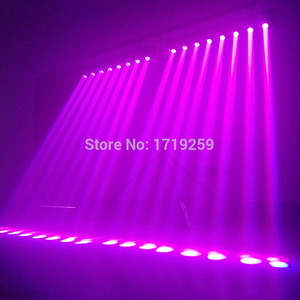Image 5 - Moving Head Light LED Bar 8X12W RGBW 4IN1 LED With 10/38 DMX Beam Dj Lights Best For DJ Disco Birthday Party Dance Floor Wedding