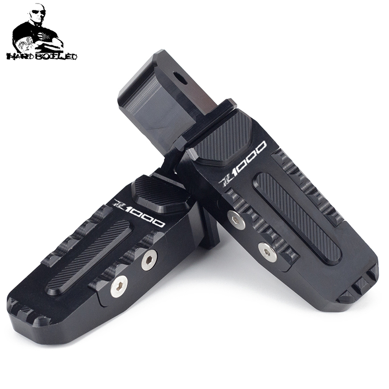 For Kawasaki <font><b>Z1000</b></font> Z 1000 Z-1000 2010-2016 2017 <font><b>2018</b></font> Rear Foot Pegs Footrest Adapter Motorcycle Passenger Accessories Footpegs image