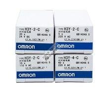 цена на Free shipping new original authentic Omron time relay H3Y-4-C AC220V DC24V 1S 5S 10S 30S 60S