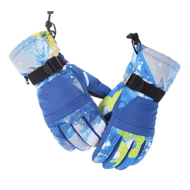 Men Women Ski Gloves Snowboard Gloves Ultralight Waterproof Winter Sonw Warm Fleece Motorcycle Snowmobile Riding Gloves