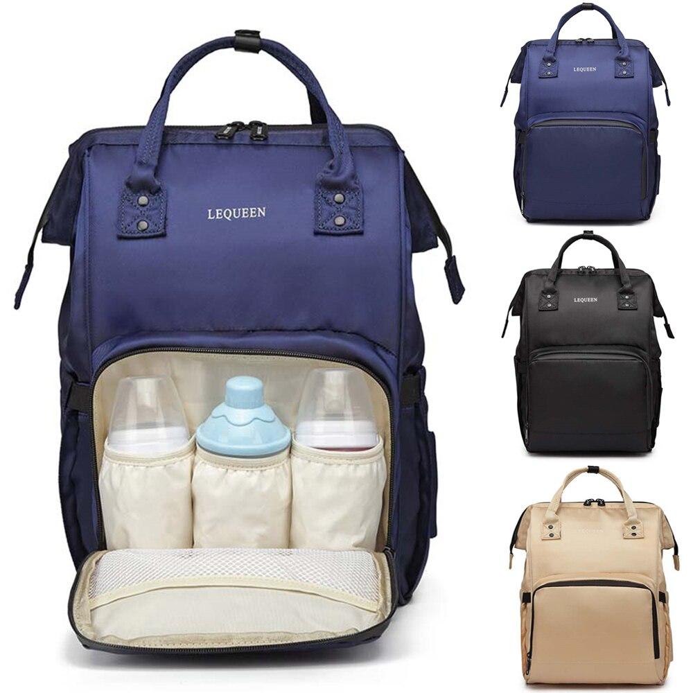 Mummy Maternity Nappy Bag Large Capacity Nappy Bag Stroller Travel Backpack Nursing Bag Organizer Baby Care Women's Fashion Bag