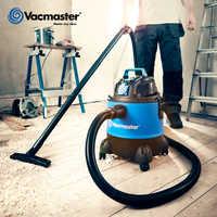 Aspiradora de vacío 18kpa de 20 l para taller, herramienta eléctrica sincronizada, aspiradora de uso