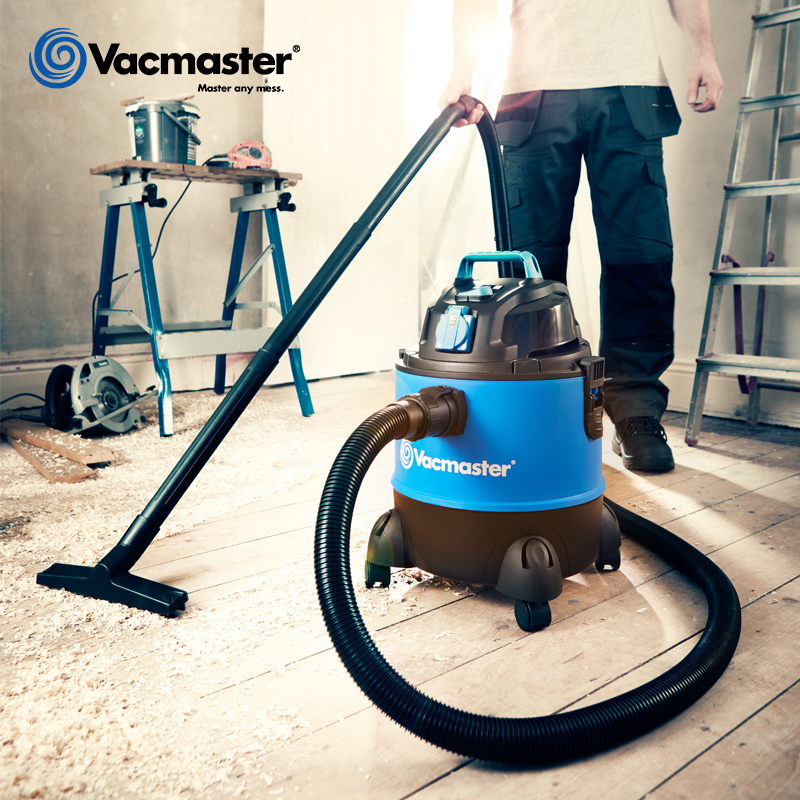 Vacmaster New 20L Wet Dry Vacuum Cleaner 18kpa Vacuum Cleaner For Workshop Synchronized Power Tool Usage Vacuums