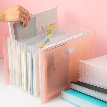 13 kieszenie rozszerzenie pliku uchwyt o dużej pojemności Organizer na dokumenty Bill dokument A4 Organizer taca na dokumenty przenośne akcesoria biurowe tanie i dobre opinie Rozszerzenie portfel File holder File Organizer Document Organizer Desk Organizer High Capacity