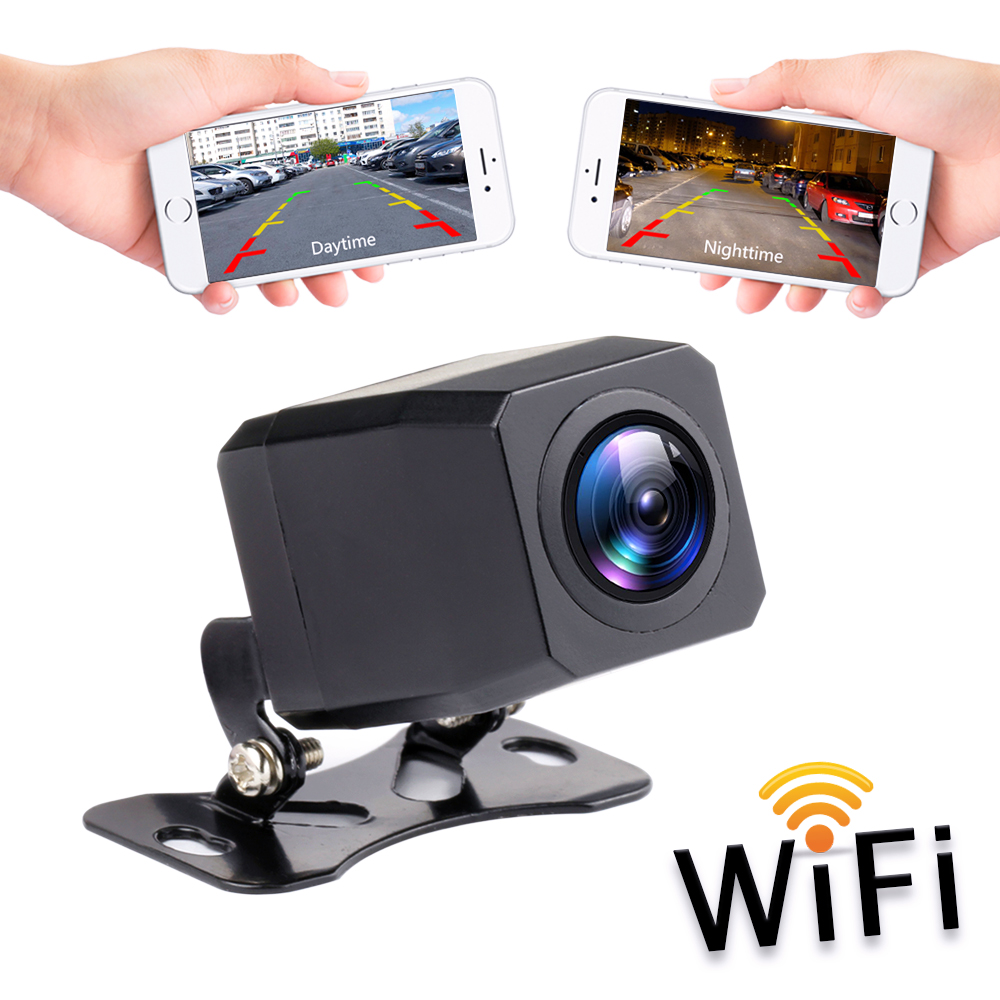 2020 NEW Wireless Car Rear View Camera WIFI Reversing Camera Dash Cam HD Night Vision Mini Body Tachograph For IPhone & Android