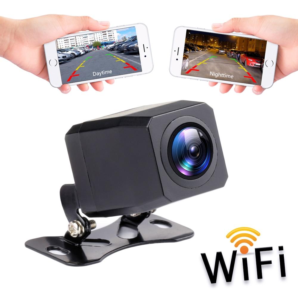 2020 nova câmera de visão traseira do carro sem fio wi fi invertendo câmera traço cam hd visão noturna mini tacógrafo corpo para iphone & android
