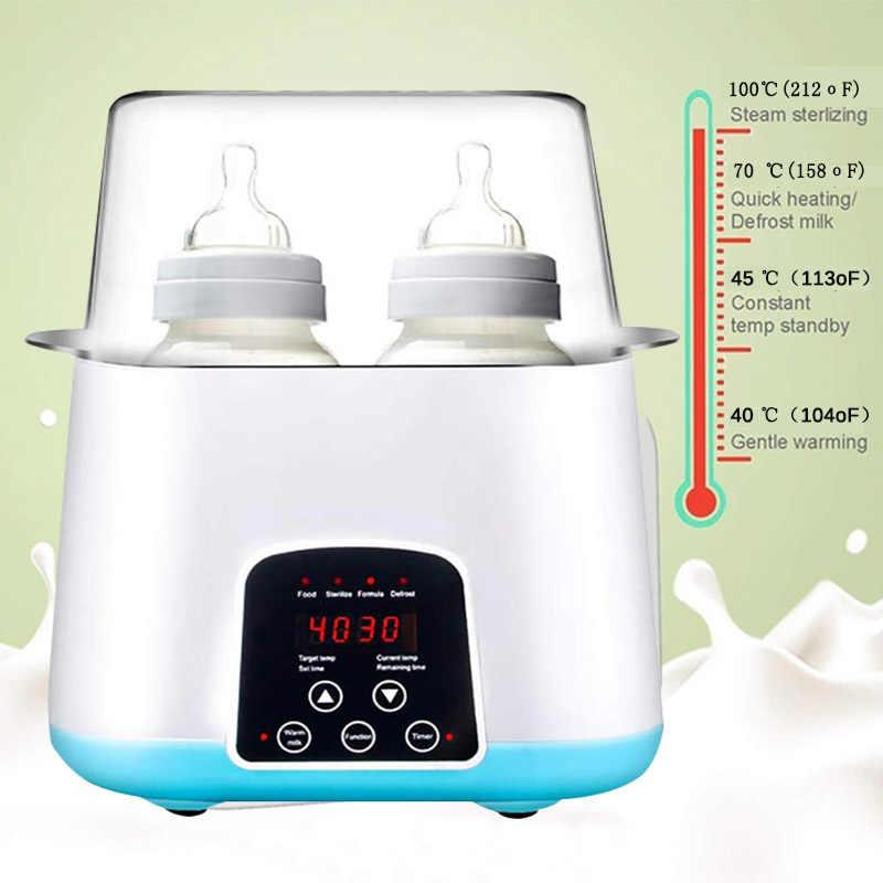 Multi-Function 6 in 1 อัตโนมัติอัจฉริยะ Thermostat ขวดนมอุ่นนมขวดฆ่าเชื้อ Fast WARM Milk & Sterilizers