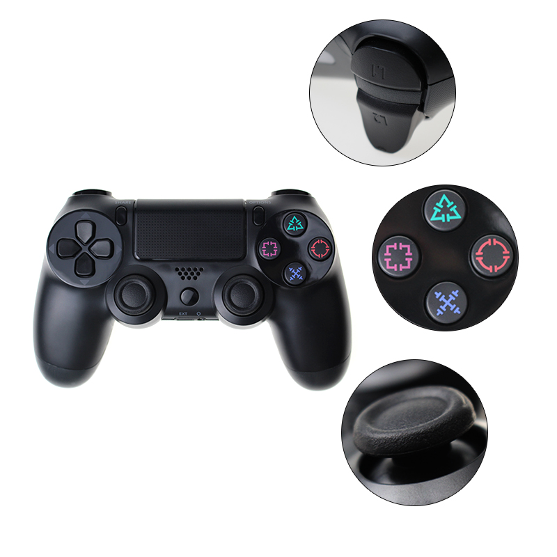 Bluetooth Gamepad and Wireless Game controller with Audio Function for PS4 and PS3 19