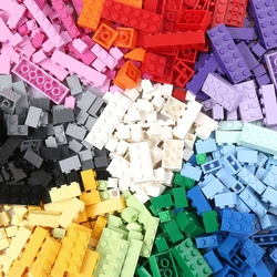 1000PCS Basic Building Brick Kit Educational DIY Set Compatible to All Major brands