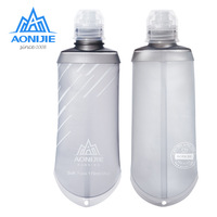 AONIJIE 170ML TPU Collapsible  Sports Nutrition Energy Gel Soft Flask Water Bottle Reservoir For Marathon Hydration Pack SD23|Sports Bottles|   -