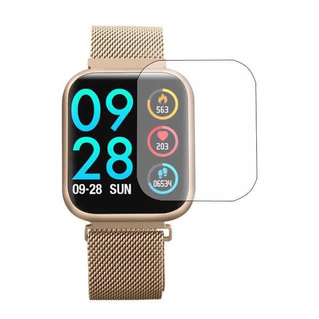 3pcs TPU โปร่งใสป้องกันฟิล์มสำหรับ ESEED lauhwl P80 สมาร์ทนาฬิกาป้องกันหน้าจอ Smartwatch ป้องกัน