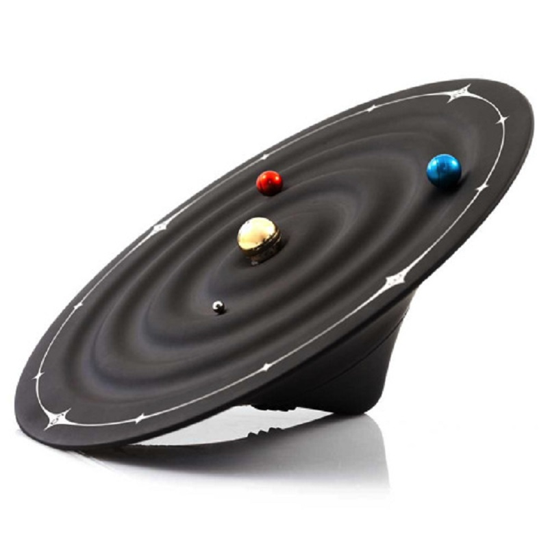 Orbit Galaxy Magnetic Clocks Creative Table Alarm Clocks Modern Design Planet Ball Desk Watches Wall Mounted Desktop Home Decor