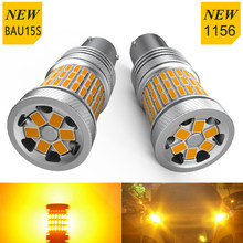 2x 1156 ba15s P21W Led Turn Signal Lamp No Error Hyper Flash BAU15S PY21W For Bmw e39 e87 e90 e46 e91 e92 e60 e30 e36 f10 f20