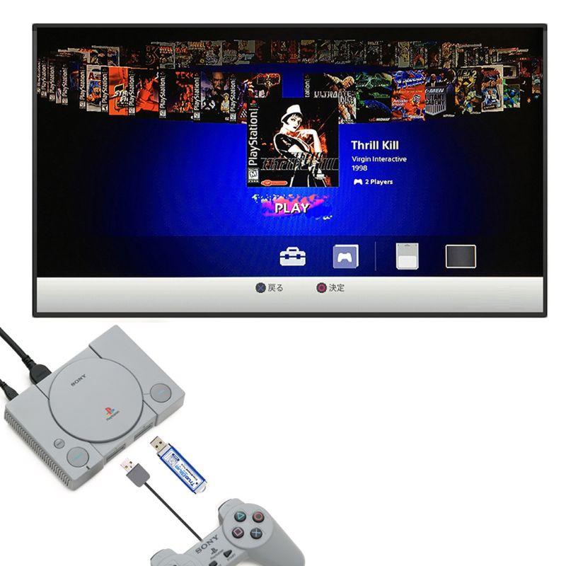 64GB صحيح الأزرق فرقعة صغيرة الميث حزمة لبلاي ستيشن الألعاب الكلاسيكية والاكسسوارات 101 و 58 ألعاب V1 f42dبيع بالجملة دروبشيبينغ