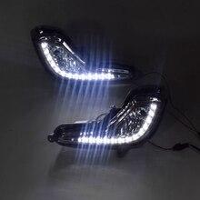 LED światło do jazdy dziennej DRL lampa przeciwmgielna 12V światła do jazdy samochodem dla Hyundai Accent Solaris Verna 2010-2013
