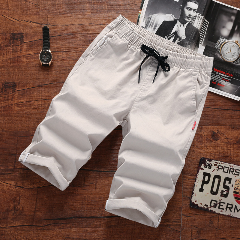 2019 Large Cargo Main Push Summer Capri Pants Men's Shorts 604-k88-