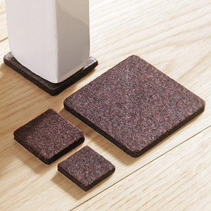 Image 5 - 8pcs   18pcs Self Adhesive chair feet pads Anti Slip mat floor protectors for furniture legs  Furniture Accessories home decor