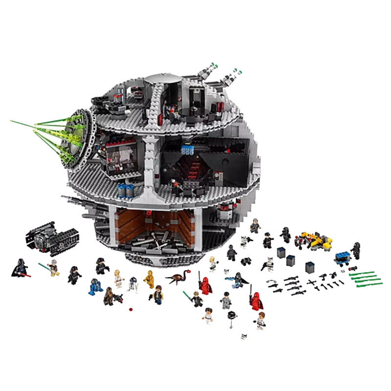 New Star Wars Figure Series Toys Death Star Compatible Legoingly Star Wars 75159 Building Blocks For Children Christmas Gift