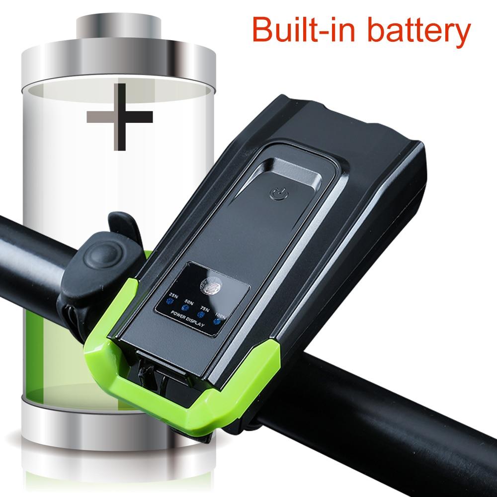 20000 люмен 4000 мАч велосипедный передний свет с рожком USB Перезаряжаемый умный велосипедный Свет Индукционная светодиодная велосипедная ламп...