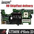 Asepcs G73SW материнская плата REV2.0 для For Asus G73SW G73S G73 Материнская плата для ноутбука HD3000 100% полностью протестированная HM65 поддержка GT560M 4 * слота 2D
